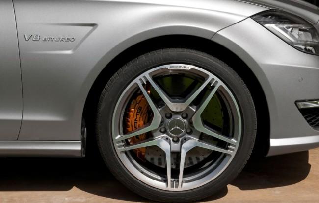 Mercedes-Benz CLS63 AMG también con 4MATIC