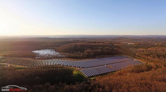 Volkswagen invierte 1.000 millones de dólares en una planta solar