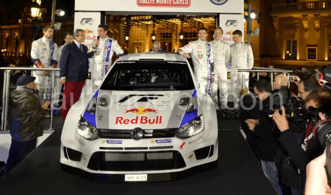 Volkswagen presenta el Polo R WRC y sus pilotos en Mónaco