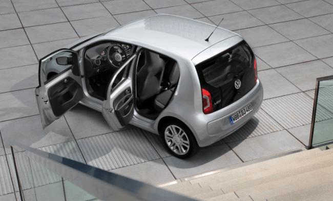 Volkswagen nos presenta el Up! de cuatro puertas