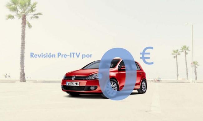 Volkswagen ofrece una completa revisión Pre-ITV gratuita a sus clientes