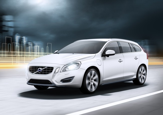 El Volvo V60 Plug-in-Hybrid llegará en 2012
