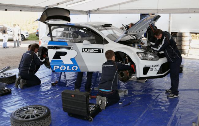 Volkswagen ya está poniendo a punto el Polo R WRC