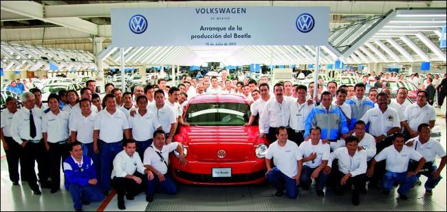 Volkswagen inicia la producción del Beetle
