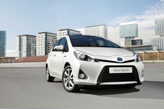 El segundo modelo híbrido de Toyota: Yaris Híbrido